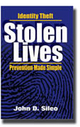 Stolen Lives: Identity Theft Prevention Made Simple Cover Art