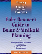 Baby Boomer's Guide to Estate & Medicaid Planning Cover Art