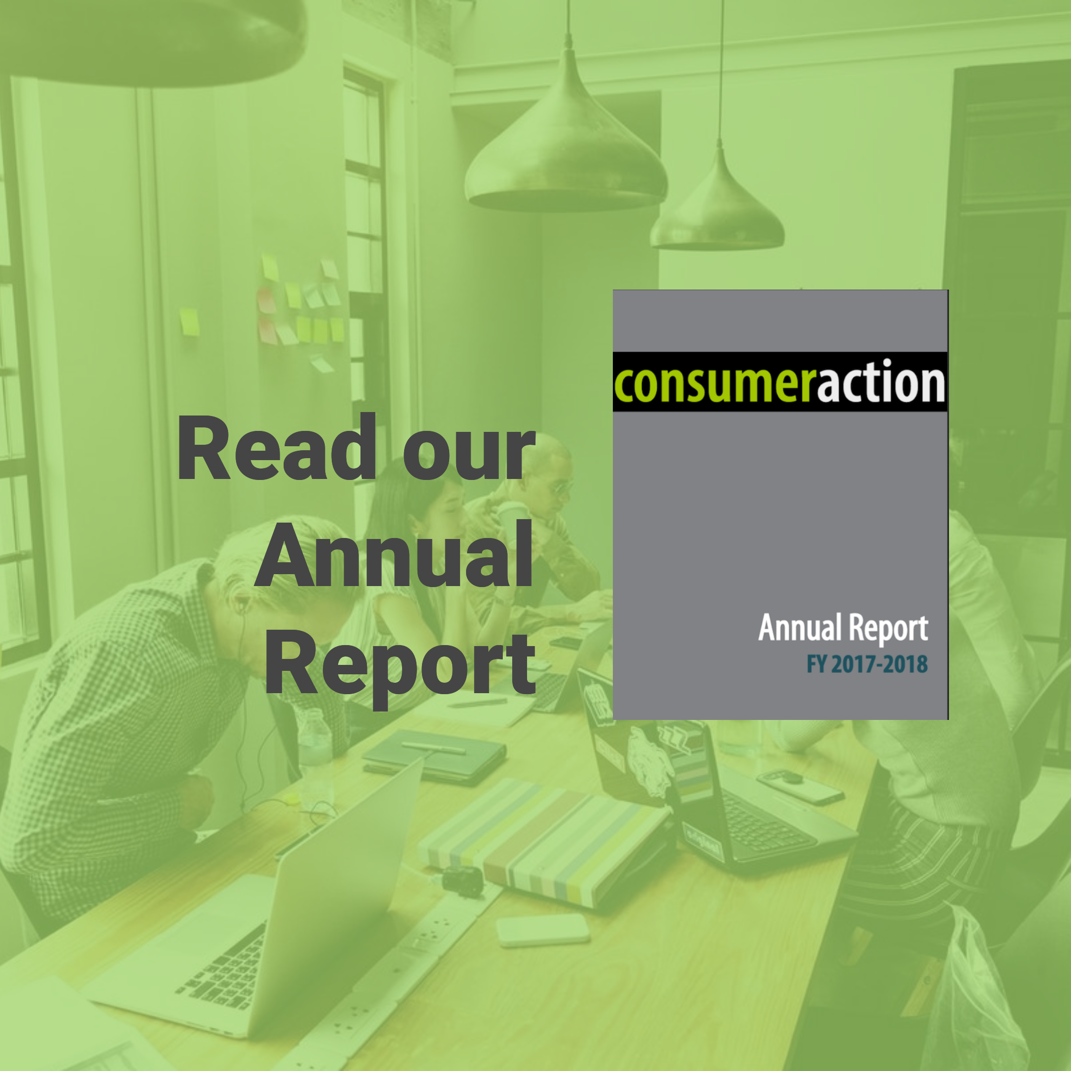 Our 2017-2018 Annual Report is available!