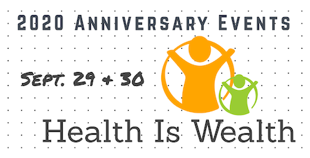 HEALTH & WEALTH is the theme for our online Convening/Awards! Click here.