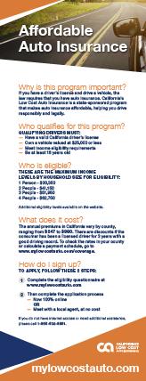 California's Low Cost Automobile Insurance Program