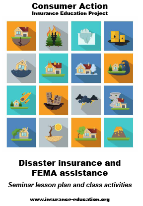 Disaster Insurance and FEMA Assistance - Seminar Lesson Plan and Class Activities Cover