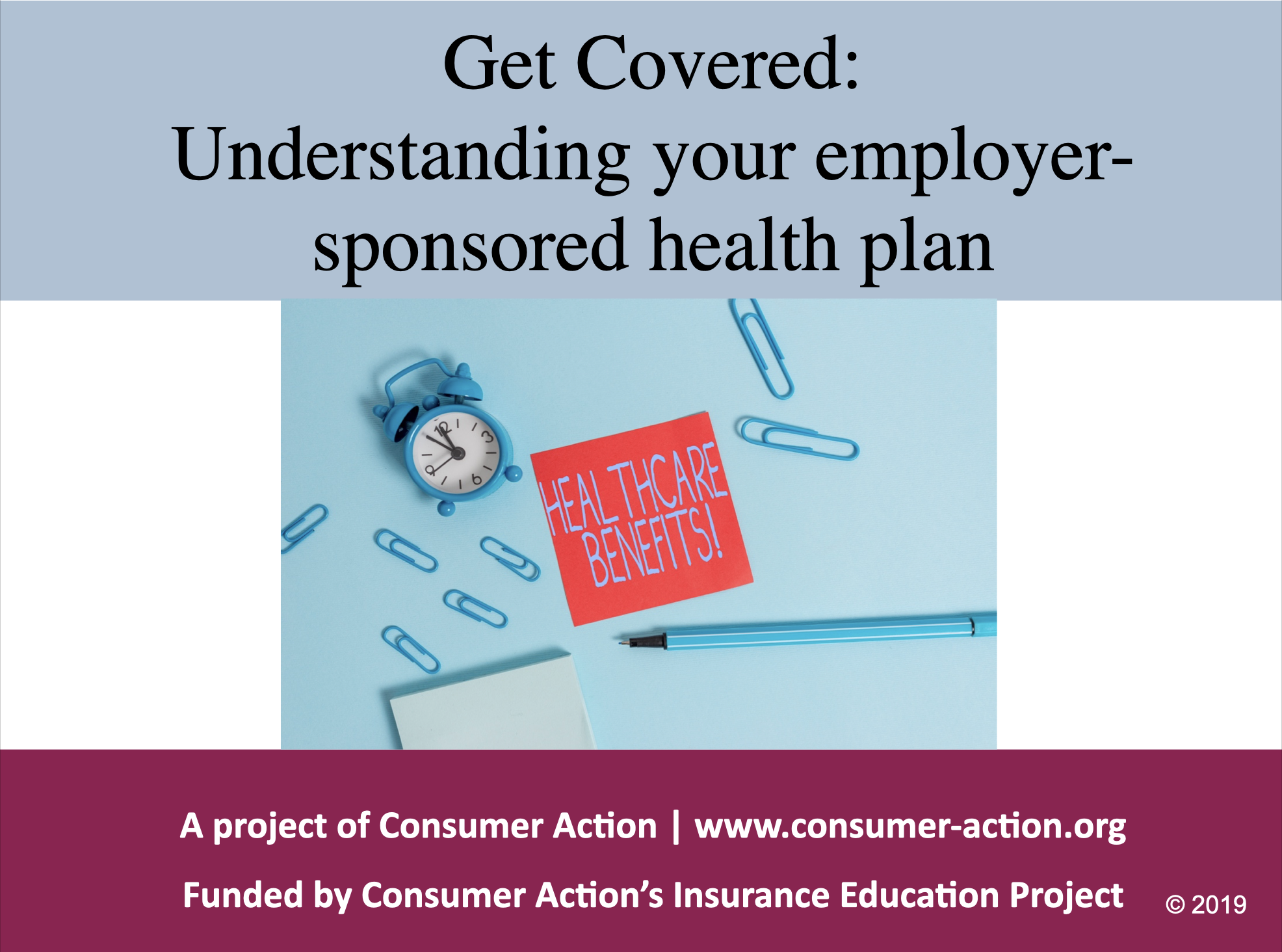 Employer-sponsored health plans - PowerPoint training slides