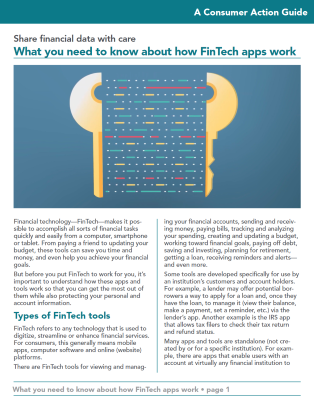 What you need to know about how FinTech apps work