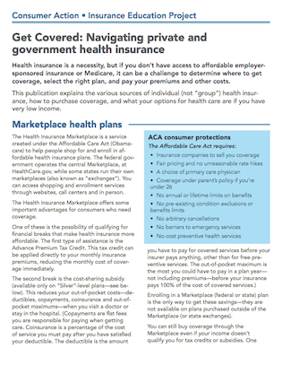 Get Covered: Navigating private and government health insurance Cover