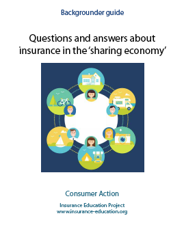 Questions and Answers about Insurance in the 'Sharing Economy' Cover