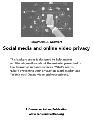 Social Media and Online Video Privacy: Trainer's manual Cover