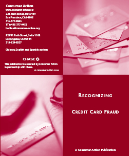 Recognizing Credit Card Fraud