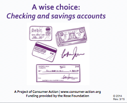 Checking and savings accounts - PowerPoint Training Slides