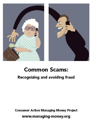 Common Scams: Recognizing and avoiding fraud Cover