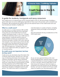 Credit Scores in the U.S.