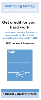 Get Credit for Your Hard Work (2018 Tax Year) Cover
