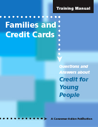 Families and Credit Cards Manual