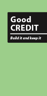 Good Credit - Build it and keep it (English)