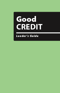Good Credit - Leader's Guide