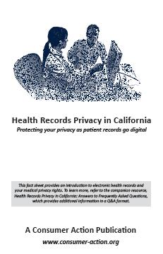 Health Records Privacy in California