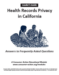 Health Records Privacy in California