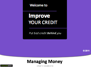 Rebuilding Good Credit - PowerPoint Training Slides (English)