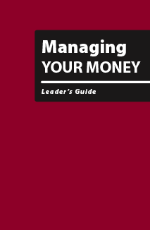Managing Your Money - Leader's Guide