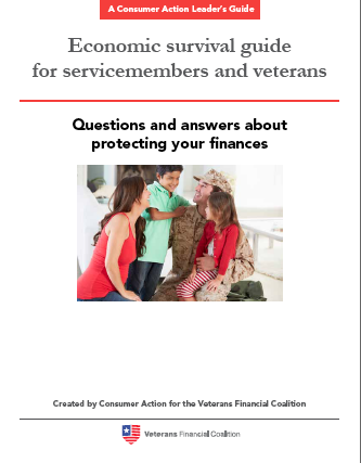 Q&A about protecting your finances for servicemembers and vets