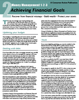 Money Management 1-2-3: TWO: Achieving Financial Goals