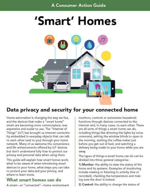 'Smart' Homes Cover