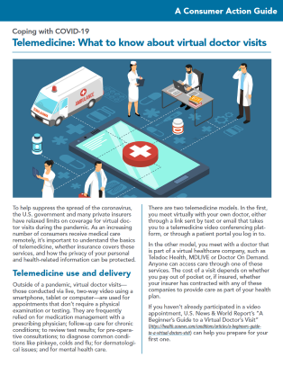 Telemedicine: What to know about virtual doctor visits Cover