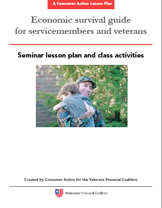Economic Survival Guide for Servicemembers and Veterans - Seminar Lesson Plan and Class Activities