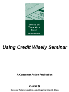 Staying on Track with Credit - Lesson Plan