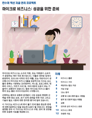 Micro business: Preparing for success (Korean) Cover