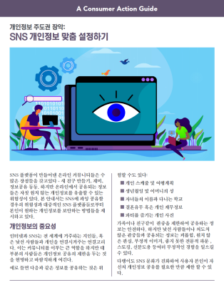 Take control: Customizing your social media privacy settings (Korean)