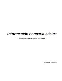 Banking Basics - Class Activities (Spanish)