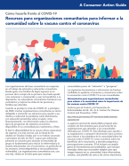 Coronavirus vaccination outreach resources for community-based organizations (Spanish)