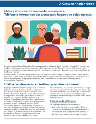 Lifeline and the Emergency Broadband Benefit (Spanish)