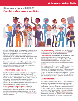 Making a job or career transition (Spanish)