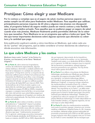 Get Covered: Choosing and using Medicare (Spanish) Cover