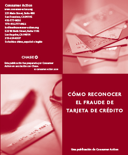 Recognizing Credit Card Fraud (Spanish)