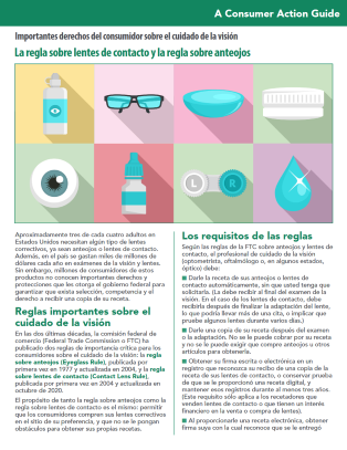 The Contact Lens Rule and the Eyeglass Rule (Spanish)