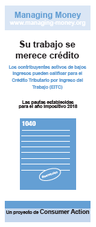 Get Credit for Your Hard Work (2018 Tax Year) (Spanish) Cover
