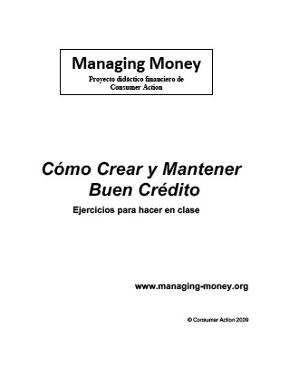 Good Credit - Class Activities (Spanish)