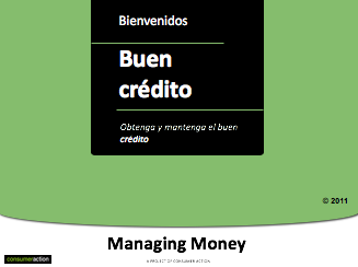 Good Credit - PowerPoint Training Slides (Spanish)