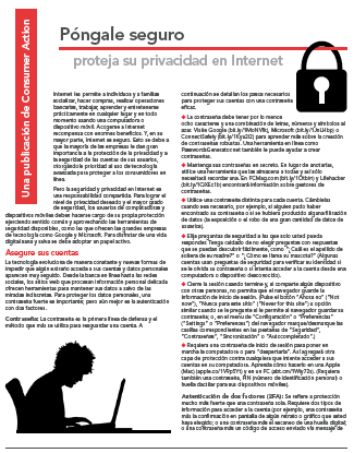 Put a Lock on It - Protecting your online privacy (Spanish)