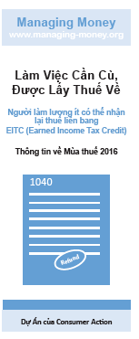 Get Credit for Your Hard Work (2016 Tax Year) (Vietnamese) Cover