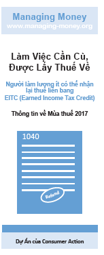 Get Credit for Your Hard Work (2017 Tax Year) (Vietnamese) Cover