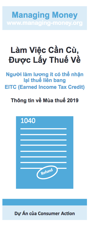 Get Credit for Your Hard Work (2019 Tax Year) (Vietnamese) Cover