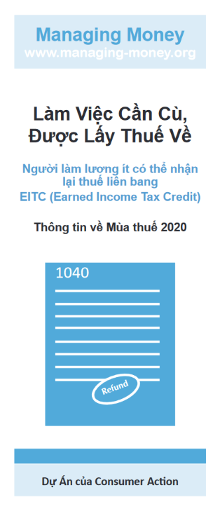 Get Credit for Your Hard Work (2020 Tax Year) (Vietnamese) Cover