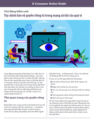 Take control: Customizing your social media privacy settings (Vietnamese) Cover