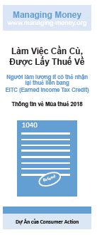 Get Credit for Your Hard Work (2018 Tax Year) (Vietnamese) Cover