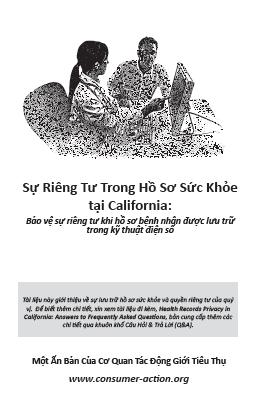 Health Records Privacy in California (Vietnamese)