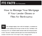 If Your Lender Closes or Files for Bankruptcy Cover Art